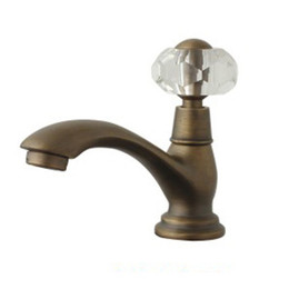 Wholesale Cloud Power Bronze Bathroom Sink Faucets With Brass Artistic Bathroom Basin Faucets Mixer Taps With Ceramic P ate Spool