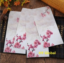 Wholesale 215 MM Vintage Japan style romantic Dim Fragrance Series DIY Multifunction Art envelope Postcard bag Gift envelopes dandys