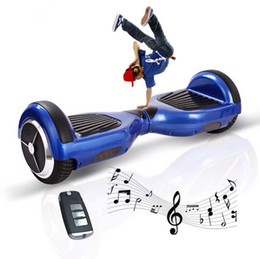 Scooter Smart Balance Wheel Scooters Two Wheels Self Balancing Electric Unicycle Scooter Bluetooth Speaker Remote Key Bag