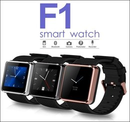 IP68 Waterproof Bluetooth Smart Watch F1 Sync Call SMS Anti Lost Wristwatch with Camera for Samsung HTC Android Smartphones