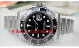Wholesale Factory Supplier Men s Watch Top quality Luxury Sapphire No Date mm Ceramic Black Bezel Dial Automatic Watches