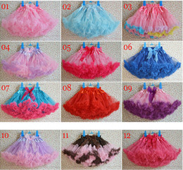 Retail Christmas baby girl designer clothes tulle skirt tutu Butterfly Ruffle Pettiskirt skirts princess gauze short skirts boutique clothes