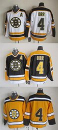 2016 New, Vintage Bobby Orr Jersey 2015 New No Name,Cheap Boston Bruins Yellow Black White CCM Hockey Jersey,Stitched,size 48-56,Best