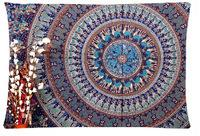 Wholesale Mandala Hippie Tapestry Style cushion cover hold Pillow Shams case inch two sides printed pillowcase PC320