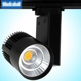 Wholesale 30W COB Led Track Light TrackLight High Power Spotlight for Shop Clothing store track Spot Lighting High Bright