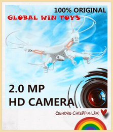 Wholesale-RC Helicopter syma x5c-1 (Upgrade version syma x5c) 6 Axis GYRO Drone Quadcopter with 2MP HD Camera or Syma X5