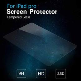 Wholesale For ipad pro Premium Tempered Glass Screen Protector Film For Apple iPad Pro ipad mini ipad air