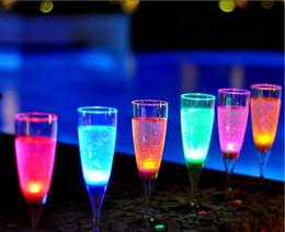 30pcs lot Liquid active LED Champagne Glass Flutes,Flash Champagne Cup,LED Flash glass LED Glass Drink Cup,LED Flash cup,wedding drink cup