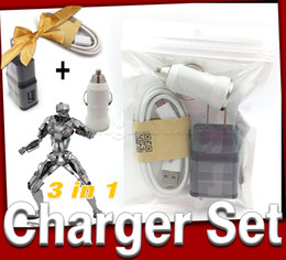 2016 3 in 1 charger adapter wall chargers portable charger car charger phone chargers iphone charger retail packaging charger samsung cable