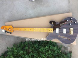 Wholesale New brand electric bass guitar with rosewood veneer
