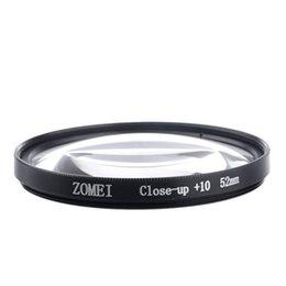 Cerca filtros en Línea-Envío gratuito + ZOMEI 52mm 10 Macro Close up de la lente de filtro para SLR Canon Sony Nikon mayorista