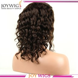 New Arrival Fashion Curly Full Lace wig  Glueless Front lace wig brazilian virgin remy hair bleahed knots for black women