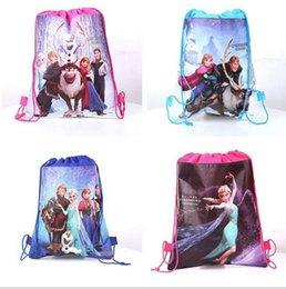 Wholesale Kid Backpacks For School Korean - Elsa Anna korean fashion backpack popular For girls schools bags good quality cartoon kids backpack mochila