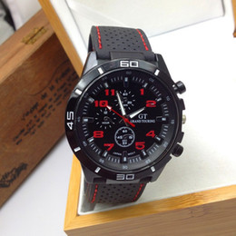 Sport Wristwatches Quartz Men's Watch Silicone Relogio Masculino Clock F1 Fashion Men Watches