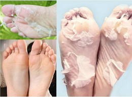 Wholesale-2015 High Quality 28pc sosu foot Mask socks for pedicure exfoliator socks for feet peeling Noske Feet Mask Skin Feet Care