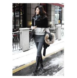 Polainas de la falda caliente en Línea-Las nuevas señoras coreanas de la venta caliente Mirco del terciopelo adelgazan las faldas plisadas de las faldas de las bragas 2 en 1 polainas W3252 de la falda