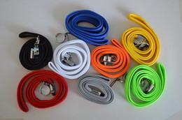 Wholesale 50pcs Ego Necklace ego lanyard ring e cig lanyards carry bag string for ego t ego CE4 ego CE4 e cigarette necklace e cig lanyard