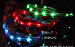 christmas toy LED glasses SPIDER carnival festival holiday supplies party decoration luminous christmas