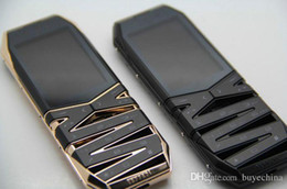 Wholesale Super Signature CEO luxury mobile phone vert Hollow metal cell phone