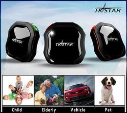 Wholesale Car Waterproof Tracker Tracking System TKSTAR GPS Tracker GSM AGPS Children Pets Cars SOS communicator