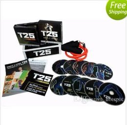 Wholesale HOT T25 dics dics with band by via DHL