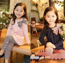 2016 New autumn children clothing suits ,girls clothes sets,child cotton sportswear set, girl casual suit, kids fashion wear