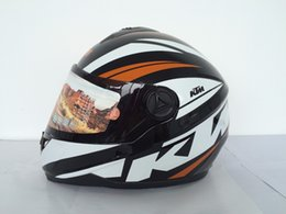 Wholesale Ktm motorcycle helmet highway automobile race helmet dot standard full face helmet