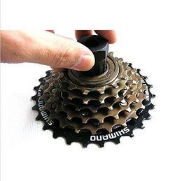 Wholesale Bike Bicycle Cassette Flywheel Freewheel Lockring Remover Removal Repair Tool For Bike Bicycle Shimano Black