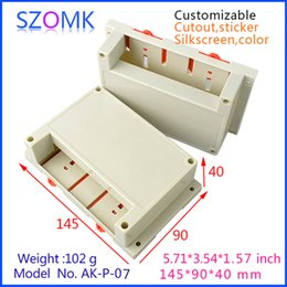Plastic electronics project instrument box (4 pcs) 145*90*40mm switch box distrubition enclosure electronics instrument box AK-P-07