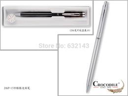 Wholesale Crocodile Business School Supplies Best Desige Thin Sliver Mechanical Pen Pencil mm