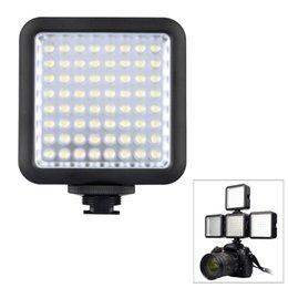 Wholesale Godox LED64 Video Light LED Lights for DSLR Camera Camcorder mini DVR as Fill Light for Wedding News Interview