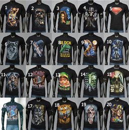 Wholesale new D T Shirt Fashion sport T shirt Bone Skull T Shirts Cotton Print T shirt size S XXL D Mens summer T shirts DDA2977