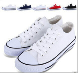 2014 sneakers shoes Brand New Unisex Low Style Adult Women's Mens Canvas Shoes Laced Up Casual Shoes Sneaker