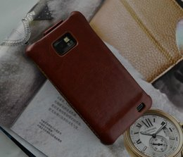 Wholesale New High Quality Limited Quantity Sale Fasion Thin Leather Case for S2 i9100