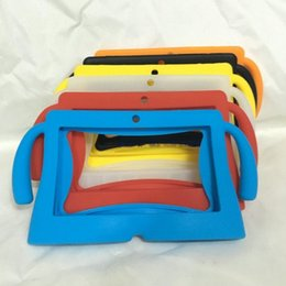 hot sale Kids Soft Silicone Rubber Gel Case Cover For 7inch Q88 A13 A23 A33 Q8 Android Tablet PC