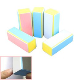 5 x Nail Art Tips Buffer Buffing Sanding Block Files Acrylic Manicure Tools Kits ES88
