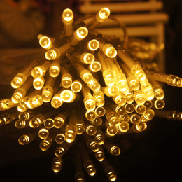 Wholesale US Stock W AA Battery Powered Copper Wire LED String Strings Christmas Lights Light Lighting M LEDS Fairy Light CE RoHs Certificate