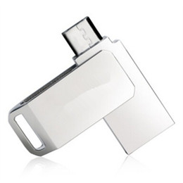 Wholesale 2015 Китай металлический корпус поворотный USB OTG GB GB GB USB Flash dirve Memory Stick U диск для ОС IOS Windows Android Tablet PC