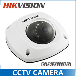 Wholesale New Hikvision dome camera DS CD2532F I S W audio Wifi MP Mini dome Up to m IR Network camera DS CD2532F IWS