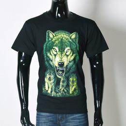Descuento camiseta para correr verde La camiseta negra del verano de la manga de los hombres / de los hombres 3D del algodón del O-Cuello del O-Cuello de la camiseta negra del verano de la camiseta de los hombres 3D de la manera libera el envío DY # 35