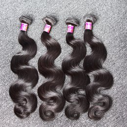 Unprocessed European Hair Weaves 3pcs lot Body Wave Hair Weft Natural Color Human Hair Extensions Free Shipping Bella