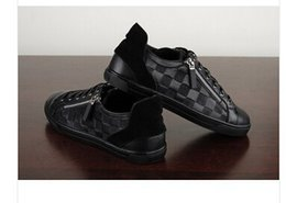 Christmas gift ! 2014 new Men sneakers shoes High quality French famous brand designer luxury casual shoes Size 39-44