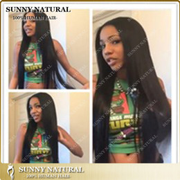 2014 factory wholesale new product straight indian human hair wigs for black women glueless full lace wig