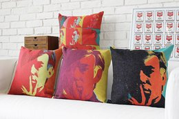 Wholesale Customize Andy Warhol Cushion Cover Pope Creative Pillow Cover Retro Art Decorative Cushion Covers