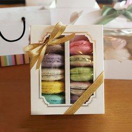 Wholesale Window Macaron boxe cake box