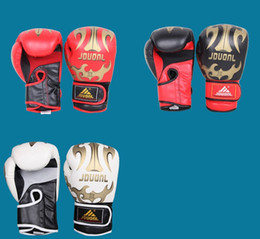 Wholesale Sparring Muay Thai Grappling Kick Boxing Gloves Original colors oz PU mateial breathable male fitness boxing gloves