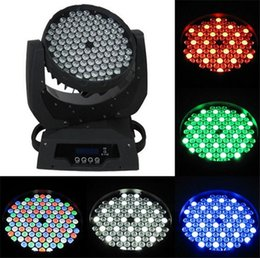 Hot sale Free shipping 108*3W led rgbw moving heads lights 108x3W moving head wash light