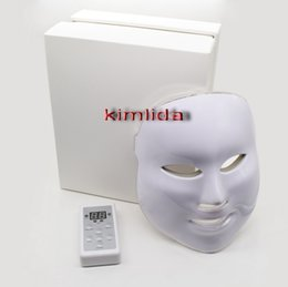 Wholesale Korean LED Photodynamic Facial Mask Home Use Beauty Instrument Anti acne Skin Rejuvenation LED Photodynamic Beauty Masks