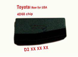 Recoge volvo en venta-ID4D68 chip de carbono Pg1: D2 Transponder chip clave del coche chip chip de auto para la llave del coche de Toyota herramienta de cerradura herramienta de selección de cerradura