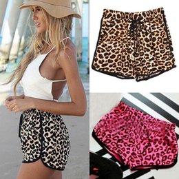 Wholesale 2015 new sexy Women Stretchy Hot Pants Summer Leopard Print Shorts Short Hot Pants